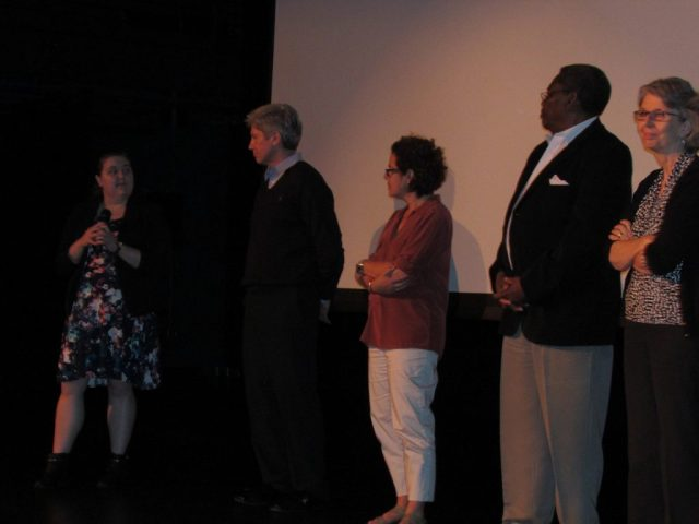 Virginia Parnell, Keith T. Barber, Phoebe Zerwick, Gus Dark and Theresa Newman