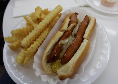 The sausage dog