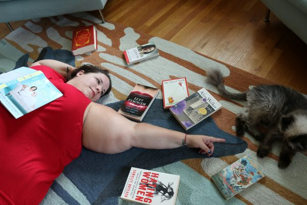 """You may recognize Greensboro native Whitney Way Thore from her hit TV show """"My Big Fat Fabulous Life"""" on TLC, or from running into her around town. Thore's first book, I Do It with the Lights On, came out earlier this month."""