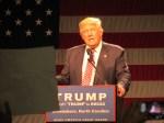 Trump attacks Clinton on refugee resettlement in Greensboro speech