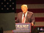 Trump attacks Clinton on refugee resettlement in Greensboro speech