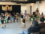 Summer camp kids impress with African drumming, dance