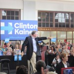 Barometer: Does Kaine affect your Clinton support?