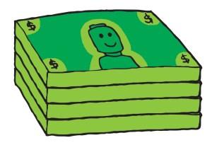 money-stack copy