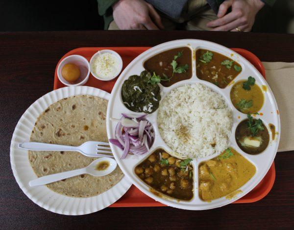 Vegetarian Restaurant Hides In Indian Grocery