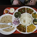 Vegetarian restaurant hides in Indian grocery
