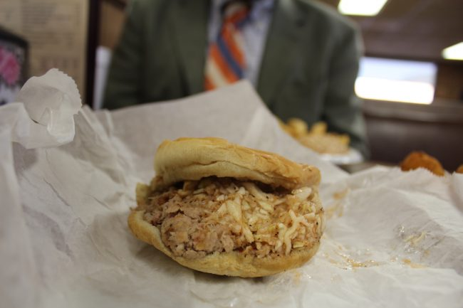 barbecue-sandwich-from-country-bbq-in-greensboro-north-carolina