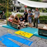 Residents reclaim College Hill with chicanes and street art