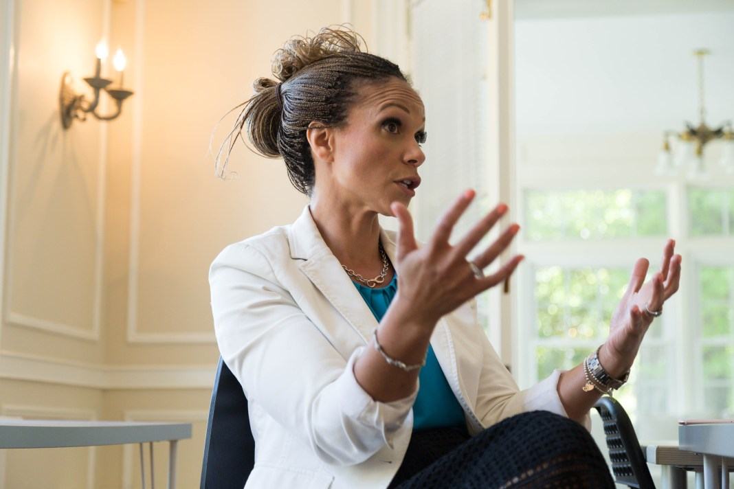 melissa-harris-perry-gesturing-at-the-anna-julia-cooper-center