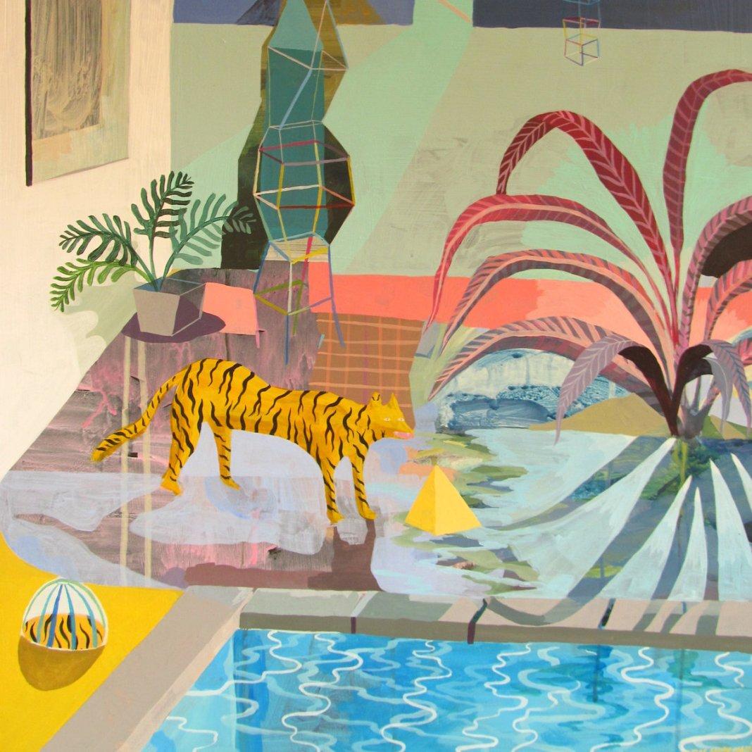 Estrangers-album-cover-for-gilded-palms