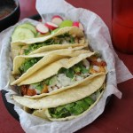 Scoring suadero and campechanos tacos