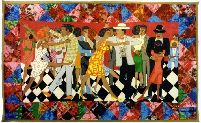 groovin-on-high-faith-ringgold-quilt-delta-arts-center