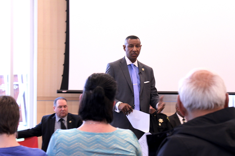Forysth County sheriff Bobby Kimbrough updates stance on ICE