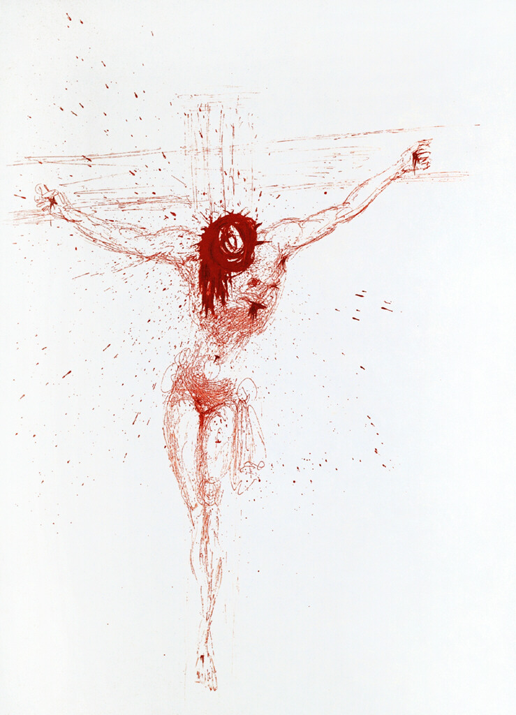 Salvador Dali - Christ