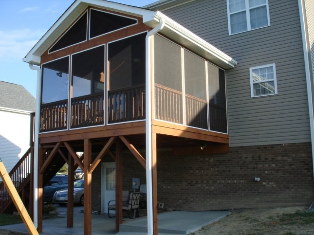 screen porch building plans free  tom3099