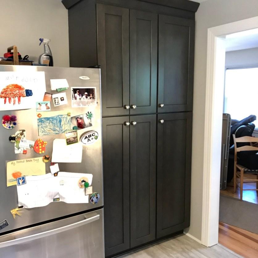 Floor to ceiling pantry