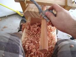 making leg stretchers