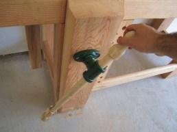 complete vise handle