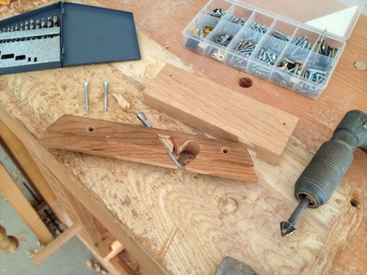 holes for groove plane fence