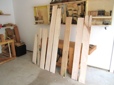 Rough boards dresser