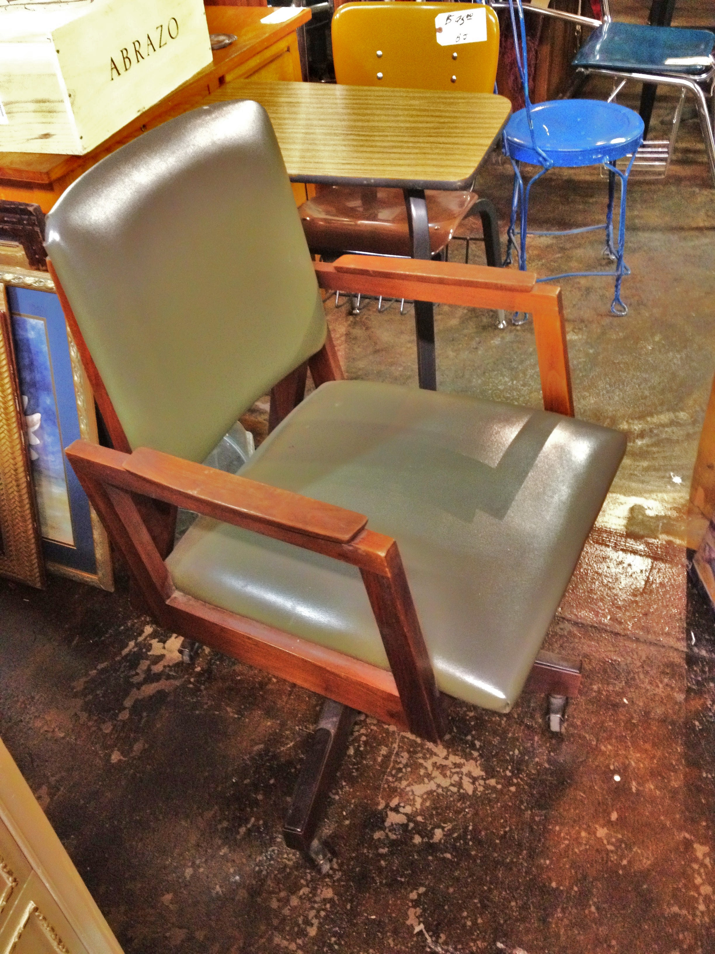 ergonomic chair trial target recliner chairs re finishing antique walnut t r i a l and e o