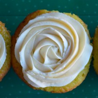 St. Patrick's Day Key Lime {Cup}cake