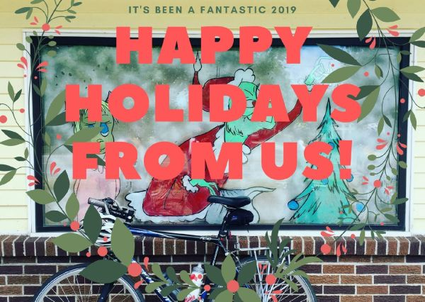 Happy Holidays from Triangle Bikeworks!