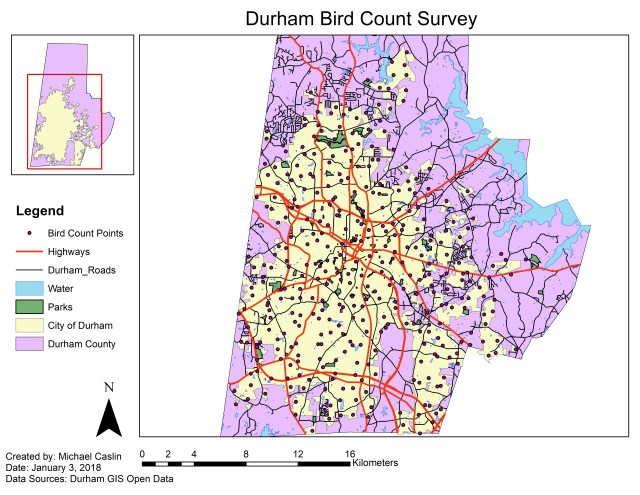 Durham Bird Count Survey