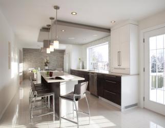 kitchen contemporary modern styles triangle k026