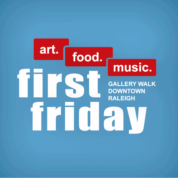 first friday raleigh