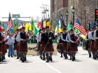 raleigh st. patrick's day festival parade triangle nc