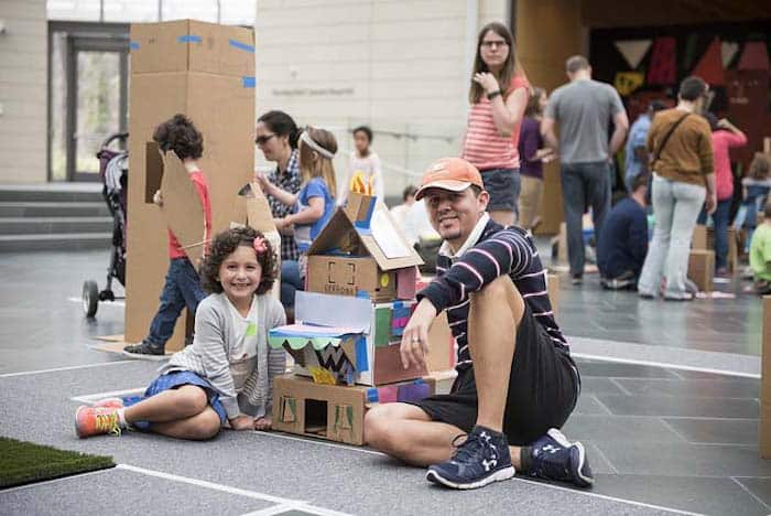 Cardboard City 4 at Nasher Museum of Art