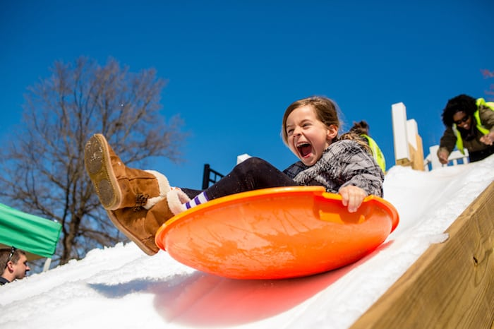 Tickets available now for Snow Day at Waverly Place on February 29