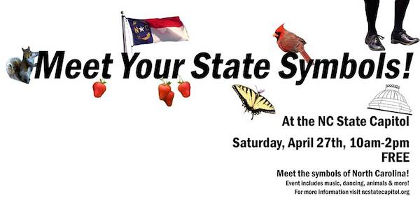 Meet Your State Symbols Event At North Carolina State Capitol Triangle On The Cheap