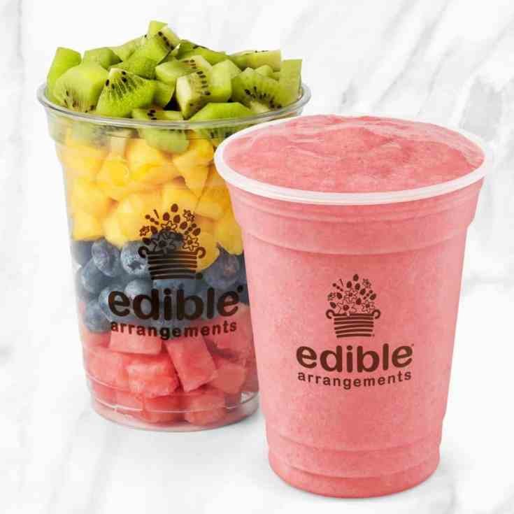$1.99 Smoothies (or fruit cups) at Edible Arrangements
