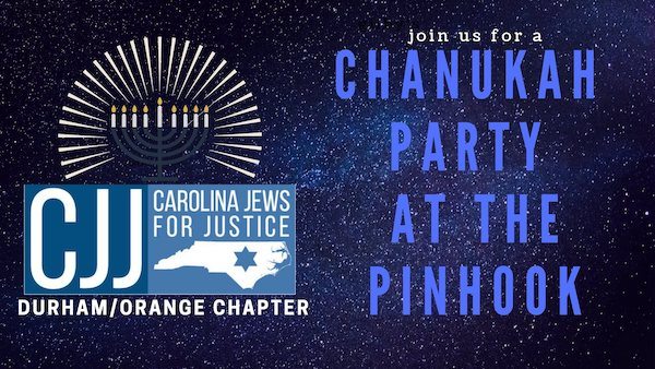 Free Chanukah Party at The Pinhook with Carolina Jews for Justice