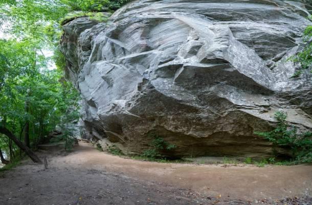 Raven Rock State Park Rock Base