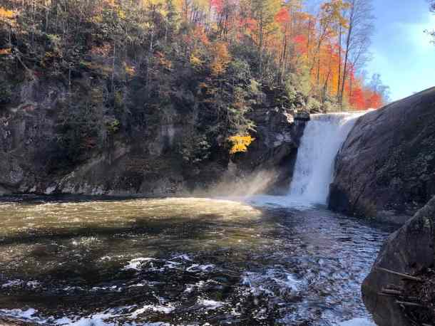 Elk River Falls, Western North Carolina