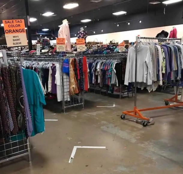 Clothing at North Raleigh Ministries