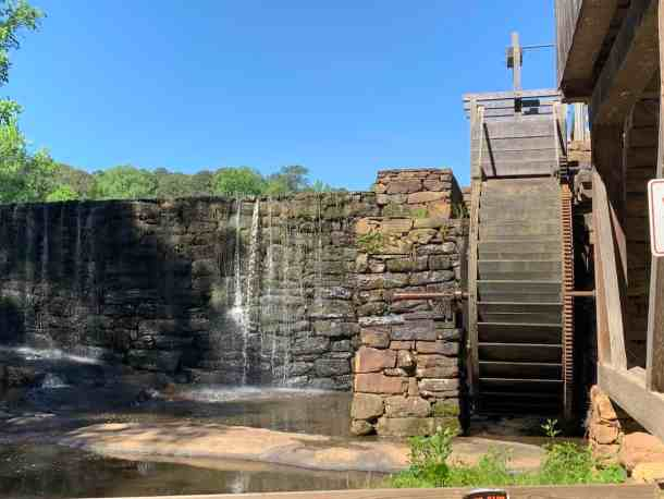 Grist mill at Historic Yates County Park in Raleigh