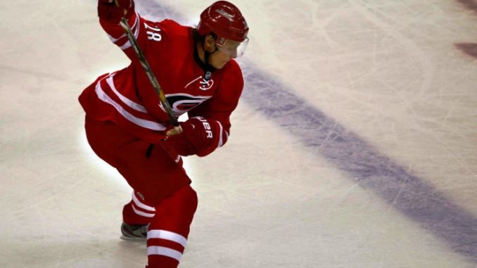 Hurricanes place Semin on waivers with intent to buy him out