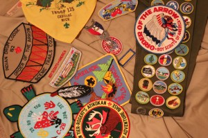 I couldn't write about Scouting without representing Troop 125 and Indian Drum 152!