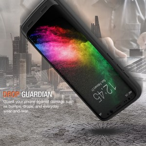 Atomic Pro Battery Case for Samsung Galaxy S8 Plus Black