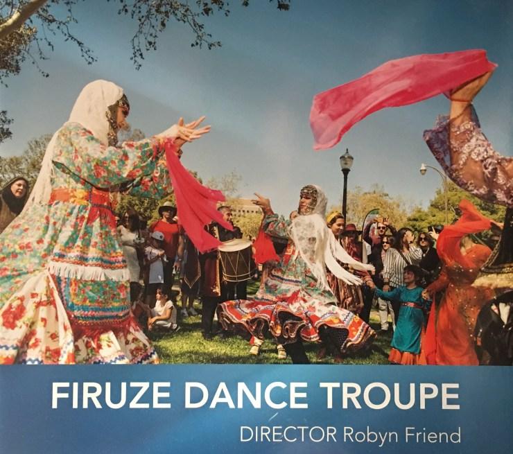 Robyn Friend's Firuze dance company b
