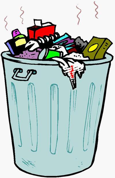 Gambar Tong Sampah Kartun : gambar, sampah, kartun, Gambar, Kartun, Sampah