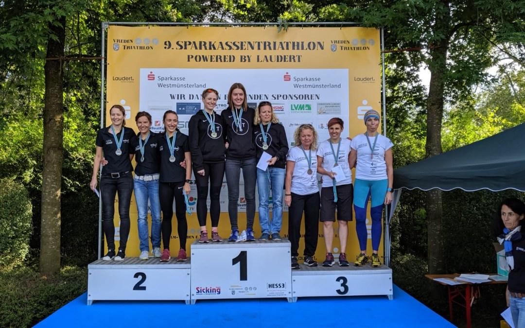 Aufstieg mal 3! Souveräner Aufstieg der Damenmannschaft des Triathlon Teams Düsseldorf