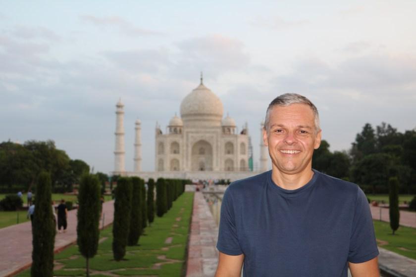 Markus @ Taj Mahal