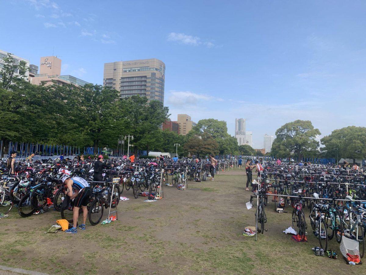 横浜トライアスロン 完走 2:17:37