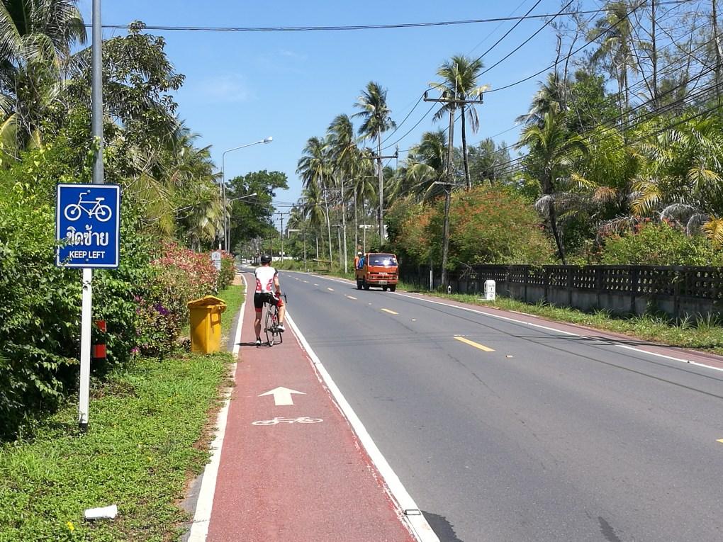 Pyörätie Phuketissa