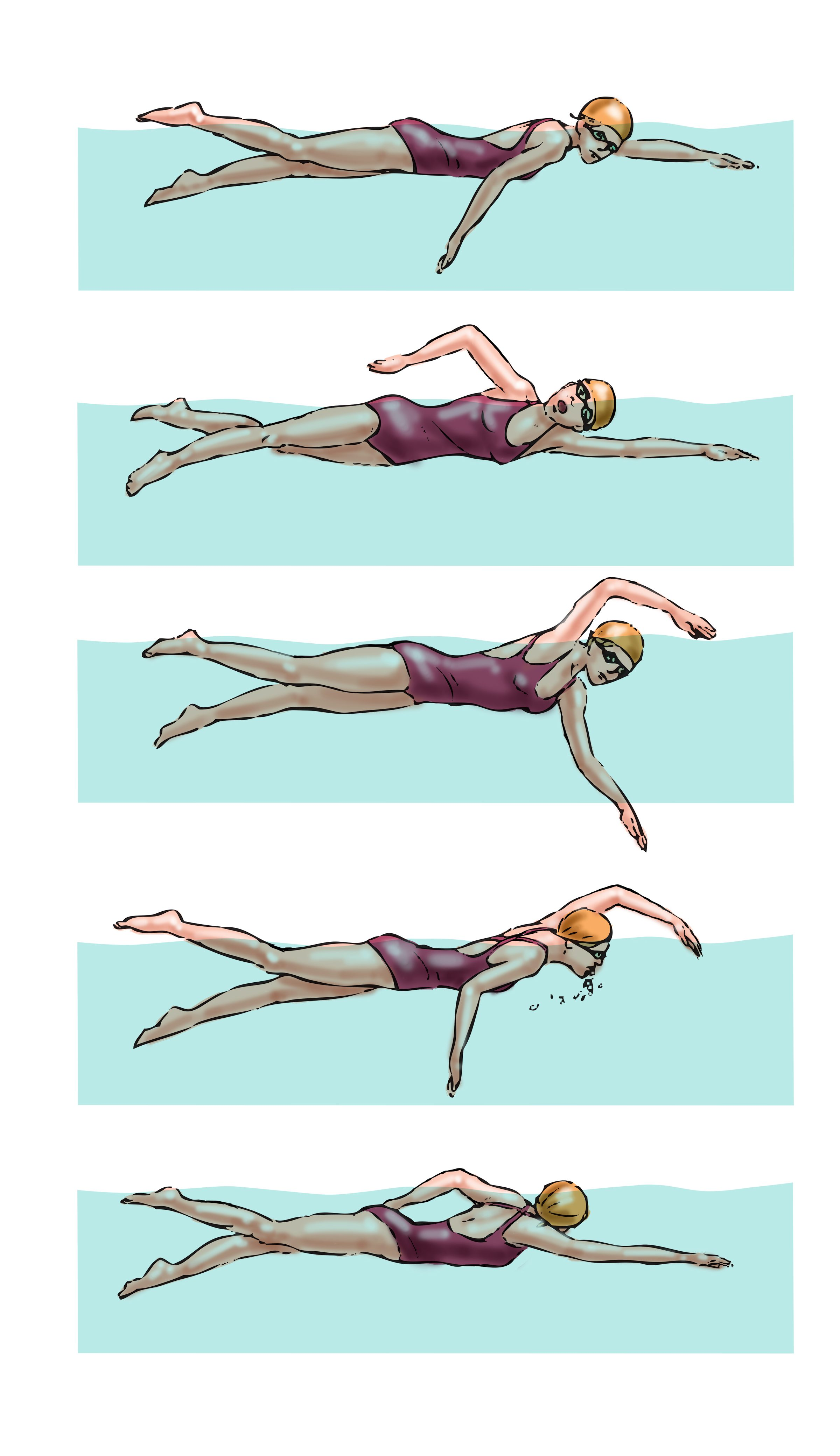 Swim Training Master Your Breathing Triathlon Magazine